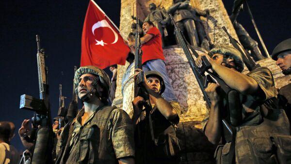 Turkey Coup With Flag - Sputnik France