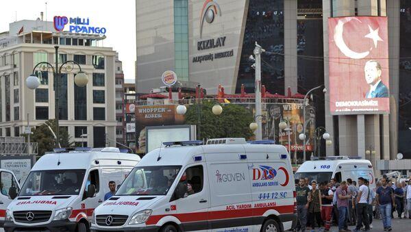 Tentative de putsch en Turquie: le bilan s'alourdit à 161 morts et 1440 blessés - Sputnik France