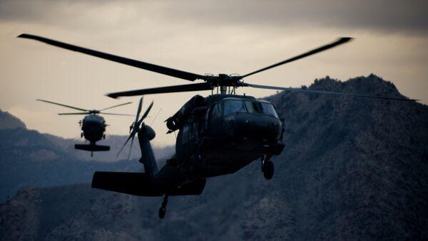 UH-60 Black Hawk helicopters - Sputnik France