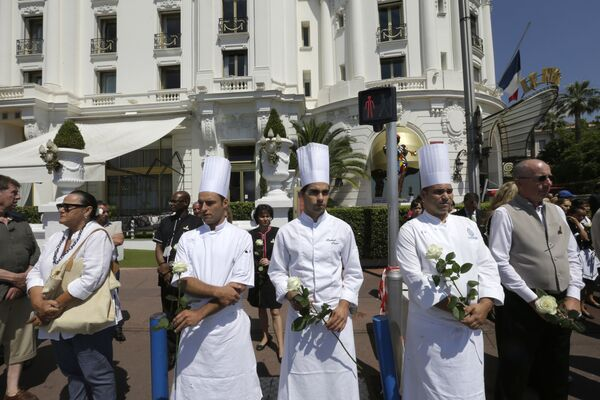 L'hommage aux victimes de l'attentat de Nice - Sputnik France