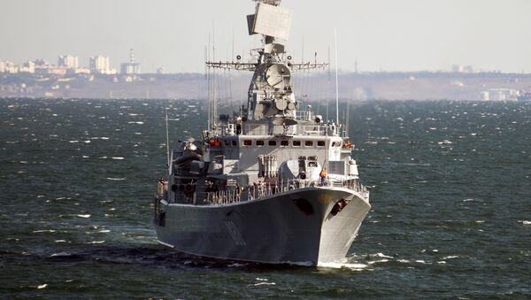 Le vaisseau amiral ukrainien Hetman Sagaydachni - Sputnik France