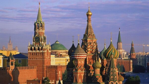 St. Basil¥s Cathedral and Kremlin. Moscow. Russia - Sputnik France