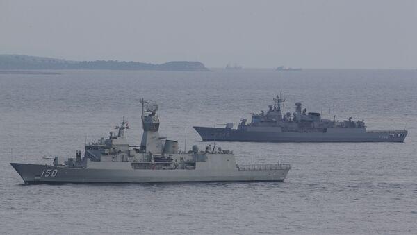 Turkish navy ships. File photo - Sputnik France