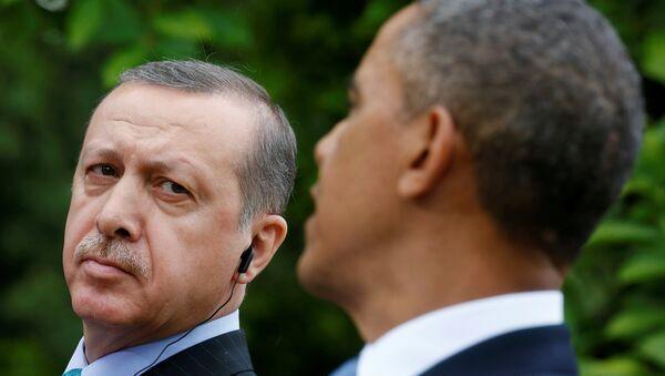 Barack Obama et Recep Tayyip Erdogan - Sputnik France