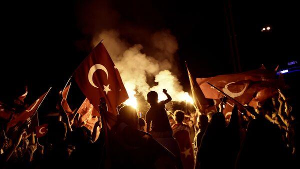 Quand les gardes du corps d'Erdogan font le coup de poing à Washington (VIDEO) - Sputnik France