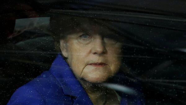 La côte de popularité de Merkel en chute libre (Bloomberg) - Sputnik France