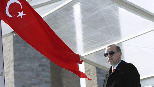 Le président turc Tayyip Erdogan - Sputnik France