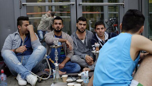 Ситуация с мигрантами в Гамбурге - Sputnik France