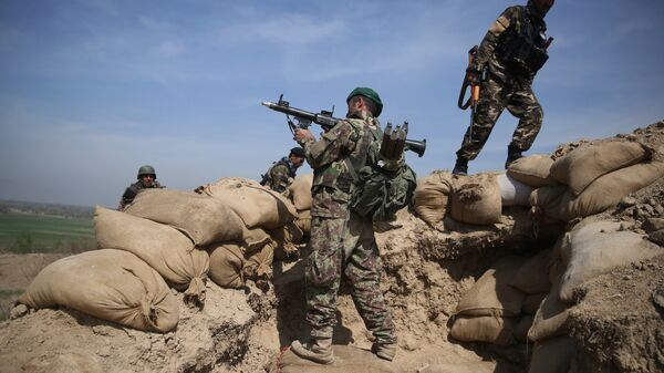 L'armée afghane prend position - Sputnik France
