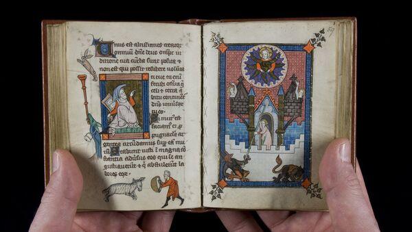 un manuscrit médiéval - Sputnik France