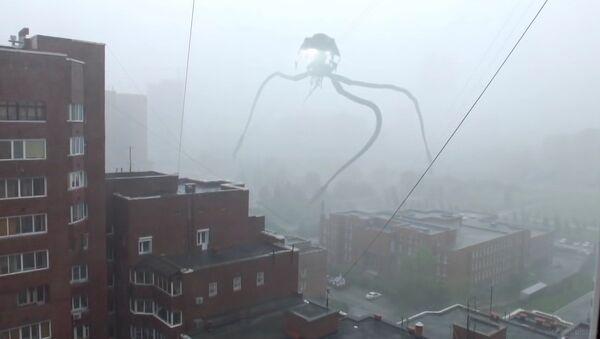 L'invasion d'extraterrestres à Novosibirsk - Sputnik France