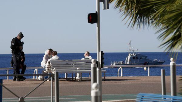 Promenade des Anglais, image d'illustration - Sputnik France