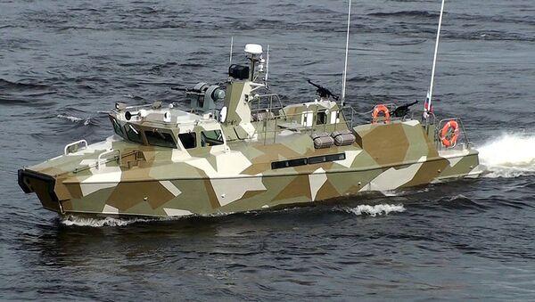 Schnellboot des Typs Raptor - Sputnik France
