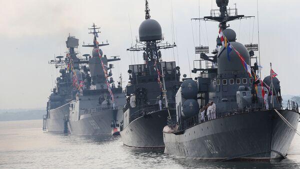 La Marine militaire russe recevra 40 nouveaux navires en 2017 - Sputnik France