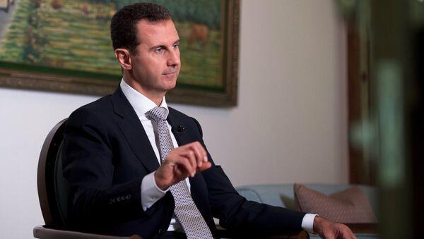 Bachar el-Assad - Sputnik France
