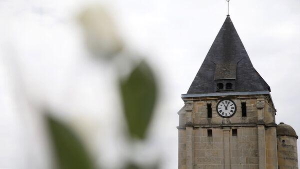 l'église de Saint-Etienne-du-Rouvray - Sputnik France