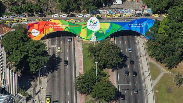 Cores olímpicas ganham as ruas do Rio - Sputnik France