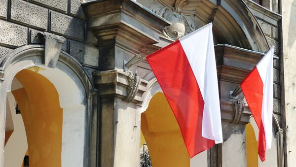 Le drapeau polonais - Sputnik France