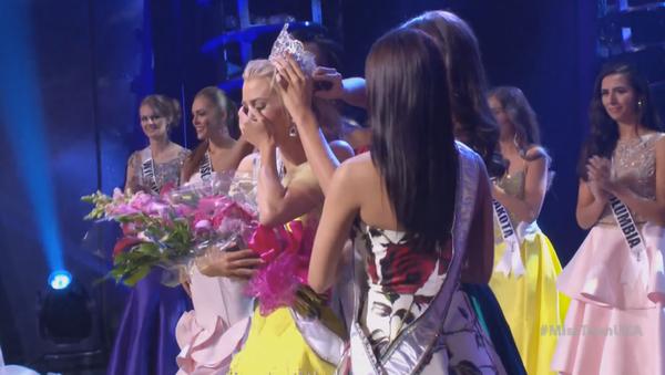 La gagnante du concours de beauté Miss Teen USA Karlie Hay - Sputnik France