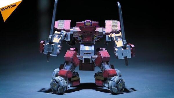 Le Ganker: un robot de combat personnel - Sputnik France
