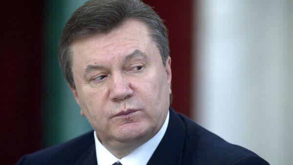 Ukrainian President Viktor Yanukovich - Sputnik France
