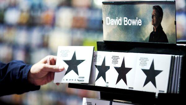 Une copie de Blackstar, le dernier album de musicien britannique David Bowie - Sputnik France