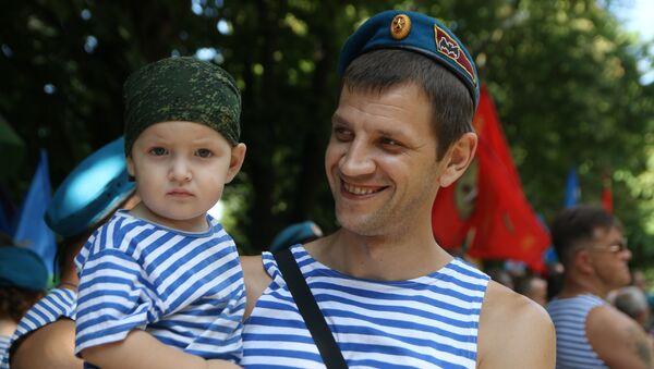 Journée des troupes aéroportées (VDV) en Russie, le 2 août - Sputnik France