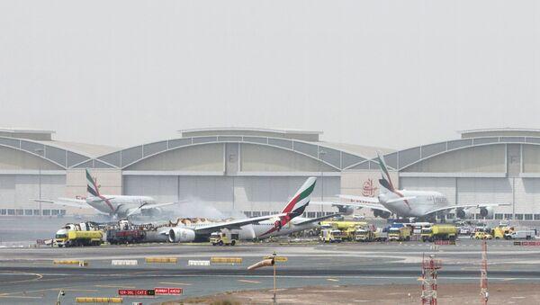 Situation à l'aéroport de Dubaï - Sputnik France