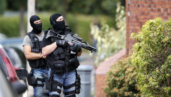 Attentat de Saint-Étienne du Rouvray, le 25 juillet 2017. Le commandant de la BRI qui a neutralisé les terroristes a déclaré à Paris-Normandie: «Il ne fait aucun doute qu'ils voulaient mourir en martyr.» - Sputnik France