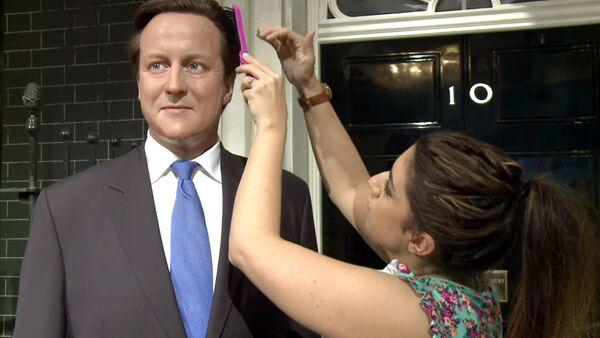 David Cameron chez Madame Tussauds - Sputnik France