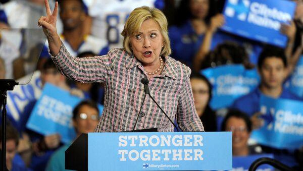 Hillary Clinton, candidate démocrate à l'élection présidentielle US - Sputnik France