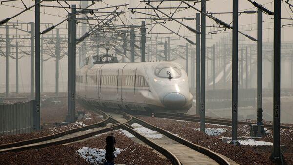 Train à grande vitesse - Sputnik France