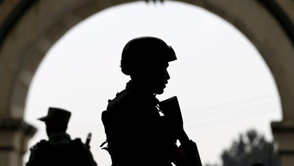 Les forces de l'ordre afghanes à Kaboul - Sputnik France