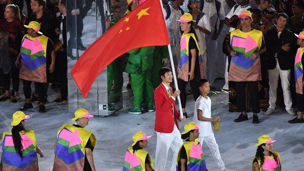 JO: des étoiles mal alignées sur leur drapeau vexent les Chinois - Sputnik France
