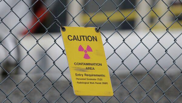 A sign warning of radioactive contamination - Sputnik France