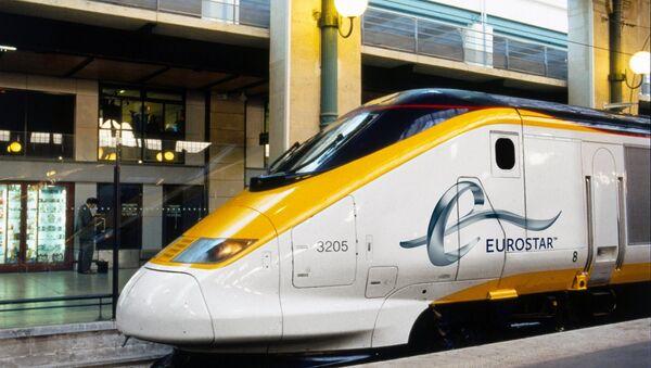 Eurostar Train at Paris Gare Du Nord Station - Sputnik France