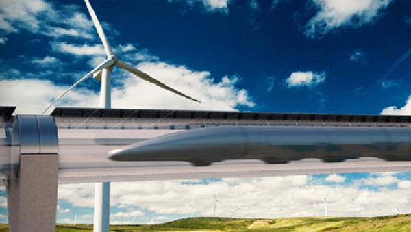 Le système Hyperloop - Sputnik France