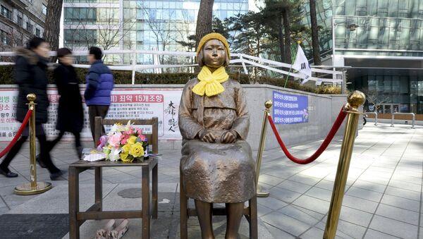 statue d'hommage aux femmes de réconfort - Sputnik France