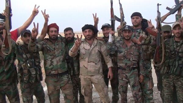 L'armée syrienne poursuit sa progression dans le désert - Sputnik France