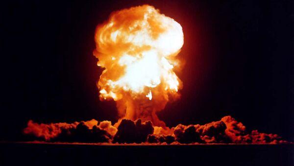 Le test d'arme nucléaire - Sputnik France