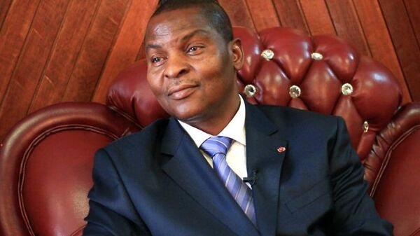 Faustin-Archange Touadéra, président centrafricain - Sputnik France