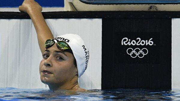 Yusra Mardini, nageuse syrienne - Sputnik France