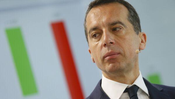 Christian Kern. L'Autriche appelle à revoir les sanctions antirusses «nuisibles» à l'UE - Sputnik France