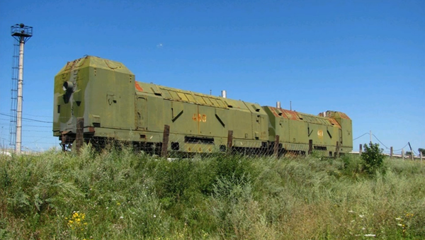 un train blindé - Sputnik France
