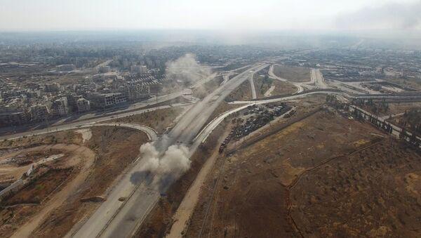 Des combats à Alep - Sputnik France