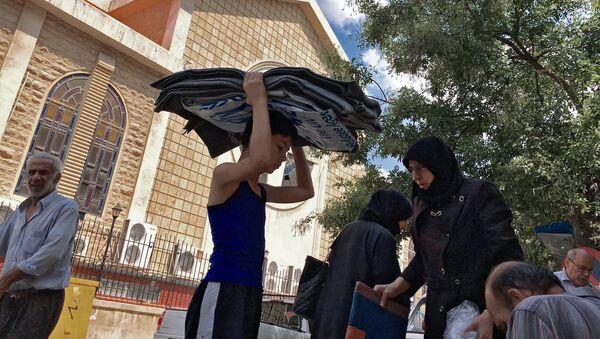 Dans le centre d'Alep, la vie continue - Sputnik France