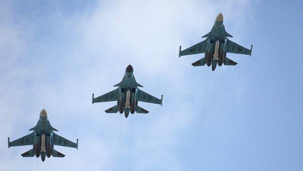 Des avions Su-34 - Sputnik France