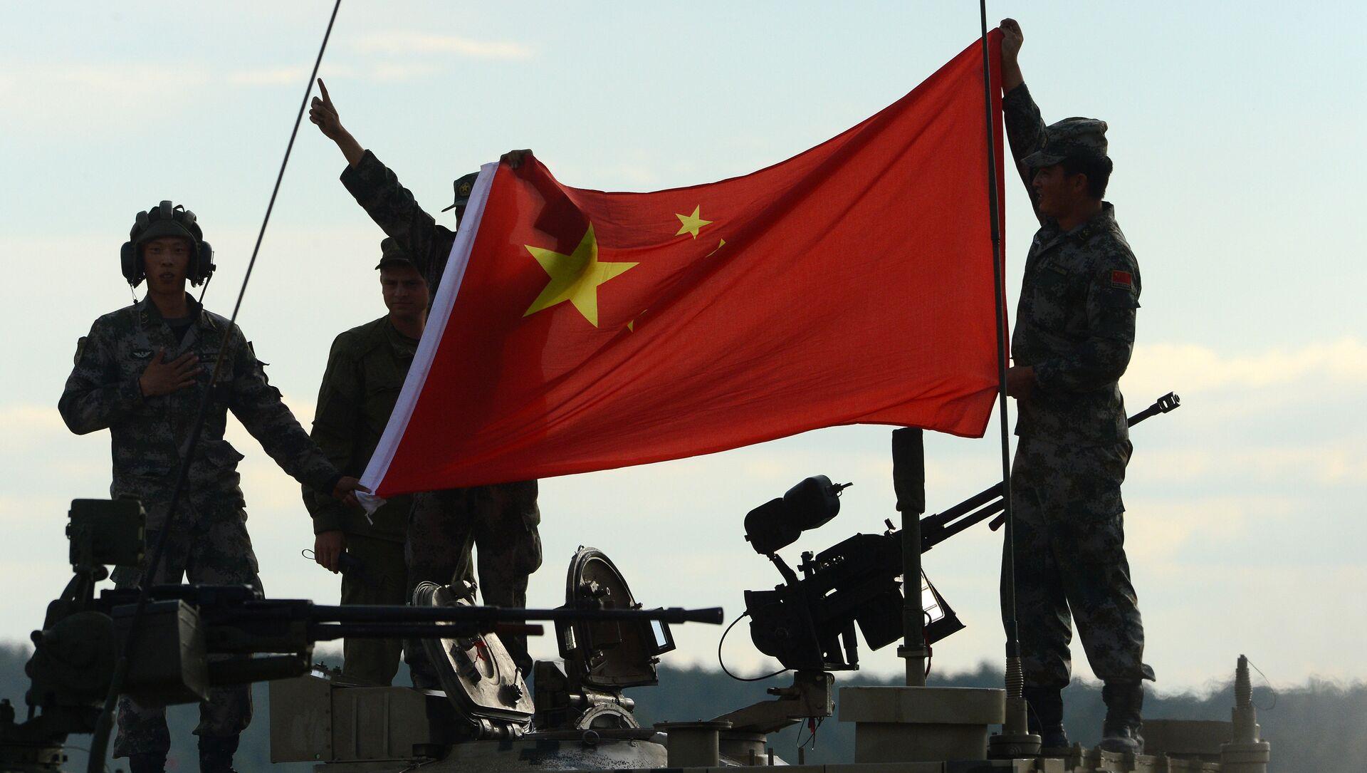 Des militaires chinois - Sputnik France, 1920, 21.08.2021