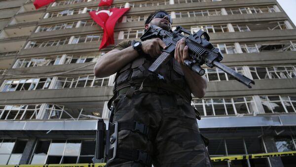 Un policier turc - Sputnik France