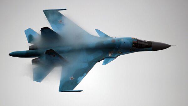 Su-34 strike fighter - Sputnik France
